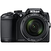 Nikon COOLPIX B500 16MP Full HD 1080p Wi-Fi Digital SLR Camera (Black) - Manufacturer Refurbished