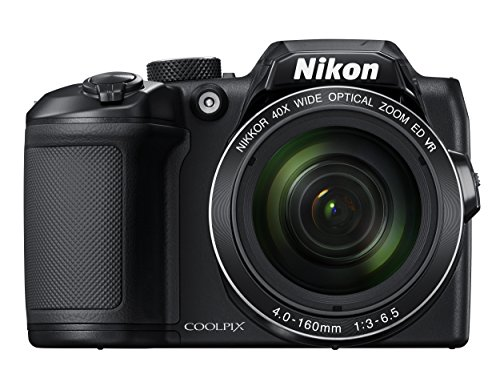 Nikon COOLPIX B500 Digital Camera (Black) (Mirrorless Camera With Viewfinder And Built In Flash)
