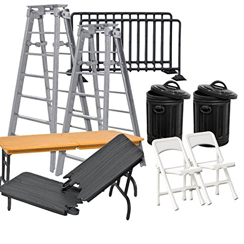 Wrestling Figure Gear Special Deal 2 For WWE Action Figures (Wwe Table Ladders And Chairs)