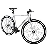 Murtisol Mountain Bike Men's and Women's Bike Fast Speed 26' 18 Speed Fixed Gear Urban Hybrid Bicycle