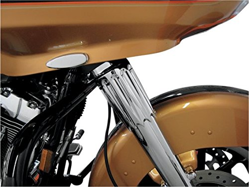 Paul Yaffe's Bagger Nation SC-YB-6.25-CHR Chrome Yafterburner Fork Slider Cover (for 1986-2016 Harley-Davidson Touring Models)