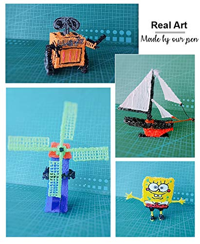 3D Pen for Kids /& Adults with Filament Refills for Model Doodling Prototyping Arts Newest 3D Pen 2019 by Behackful