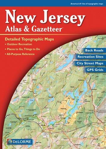 Delorme New Jersey Atlas - 324-9