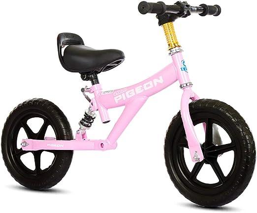 Bicicleta sin pedales Bici Specialized Sport Balance Bike - Bicicleta Ligera Deportiva de Empuje para niños y niñas de 1/2/3/4/5/6 años, Primera Bicicleta para niños pequeños y niños, 12 Pulgadas: Amazon.es: Hogar