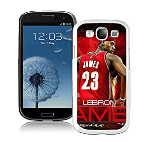 New Custom Design Cover Case For Samsung Galaxy S3 I9300 Cleveland Cavaliers Lebron James 12 White Phone Case