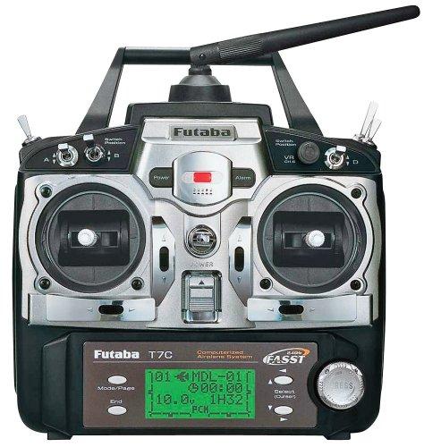 Image of Futaba 7C 2.4GHZ AIR TX/RX Transmitter