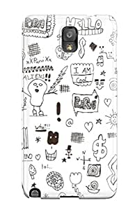 Forever Collectibles Doodle Art Hard Snap-on Galaxy Note 3 Case