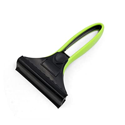 uxcell Green Black Portable Car Windshield Ice Snow Scraper Removal Cleaning Tool: Automotive