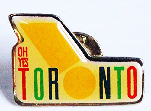 [Oh Yes Toronto Canada Tourist Promotional Trading Collectible Lapel Tie Pin] (Canada Collectible Pin)