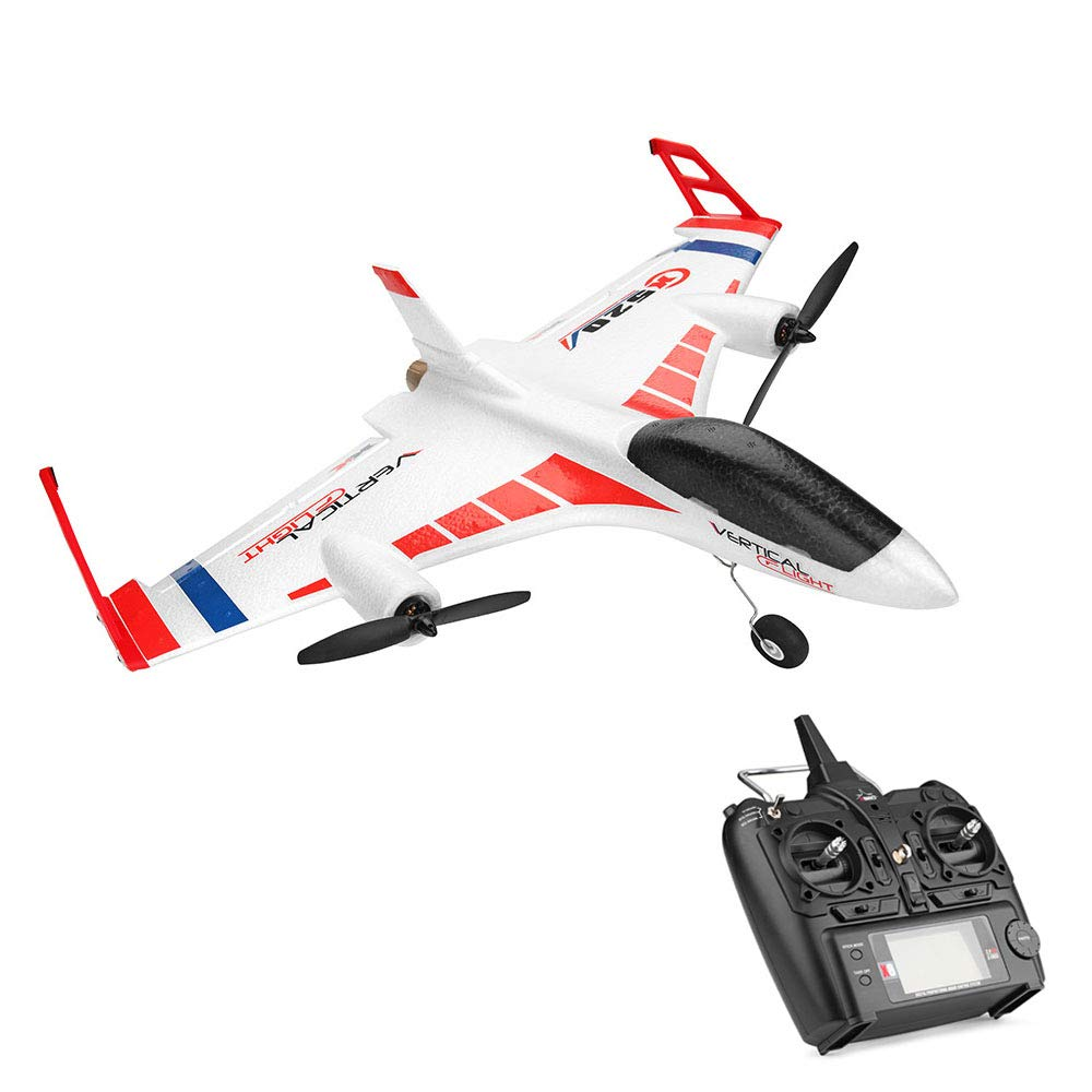 RC Remote Control Airplane - XK X520 2.4G 6CH - 2 pcs Powerful 1307 Brushless Motor, 3D/6G System RC Airplane EPP Anti-Crash, - -3D / 6G Mode - Easy to Fly for Even Beginners(US Stock) by COLOR-LILIJ