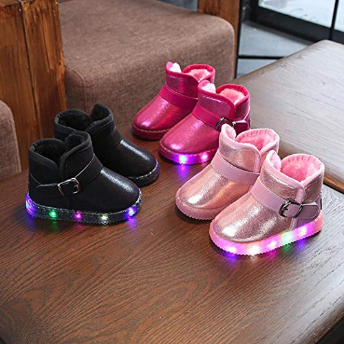Feriay Children Non-slip Breathable Casual Lighted Snow Boots Shoes Boots - http://coolthings.us