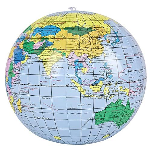 Amazon.com: Inflar mundo globos (2 docena) – Bulk 24: Toys ...