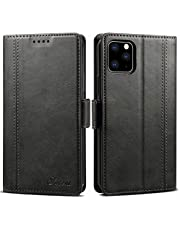 Elehome iPhone 11 Wallet case, [Splice Series] Stand Feature,Premium Soft PU Color Matching Leather Wallet Cover Flip Cases for Apple iPhone 11 2019 Release Case 6.1 Inch