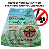 #8: GREENERWAYS ORGANIC Mosquito Repellent Zone - Non-Toxic Organic Insect Repellent All Natural Outdoor Mosquito Pest Control, Bug-Free 24/7 Up to 100 FT Radius, DEET-FREE safe for Kids, Babies, Dogs