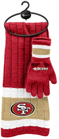 One Size Littlearth Scarf and Glove Set Team Color