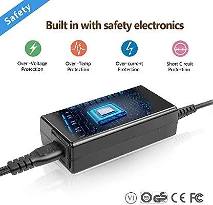 19V 3.42A Adaptador de Cargador para Portátil Acer Aspire A114 A315 A515 A517 A314-31 A515-51 Aspire F5 M5 V5 V7 E3 E5 ES1 R3 Acer Monitor H236HL ...