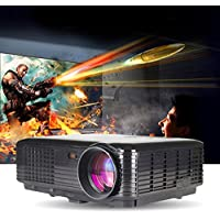LightInTheBox 3500lumens 3D Smart Projector HD 1080p Throw Home Movies HDMI VGA TV USB Video Projector