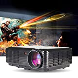 1080 Projector Screen - LightInTheBox 3500lumens 3D Smart Projector HD 1080p Throw Home Movies HDMI VGA TV USB Video Projector