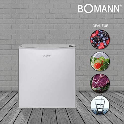 Bomann nevera 45l KB 340 acero fino Energieeffizienzklasse (A+++ ...