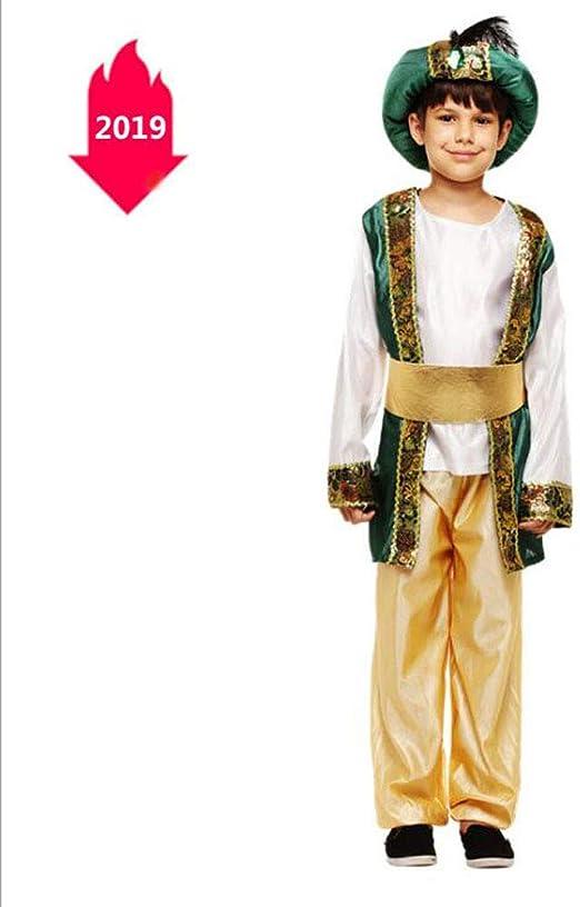 Disfraz de Halloween para niños Mascarada Príncipe indio Traje ...