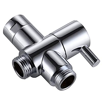 """KES PV4-P SOLID BRASS 3-Way Diverter Valve 3/4"""" and 1/2"""" IPS Shower System Replacement Part"""