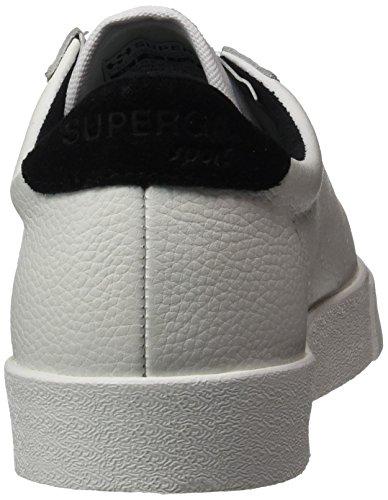 Black Zapatillas Etumbleleasueu Mujer para White Blanco 2843 Superga 7qp0EAwx40