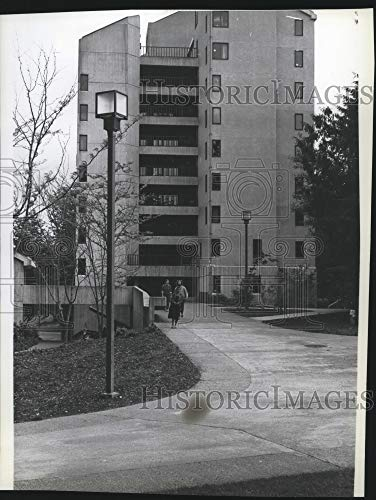 Historic Images - 1979 Press Photo Evergreen State College Residence Hall - spa37644