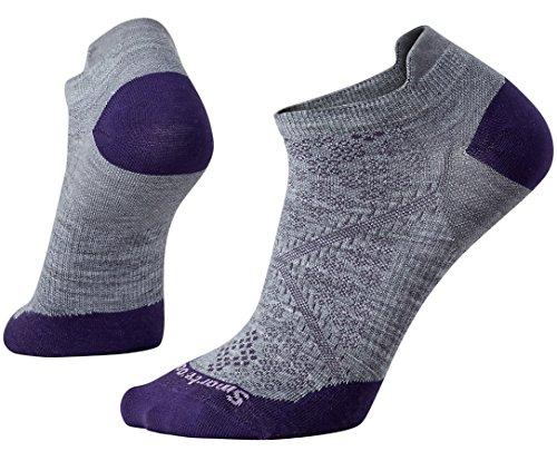 Smartwool Women's PhD Run Ultra Light Micro Socks (Light Gray) Medium (Smartwool Ultralight Socks)