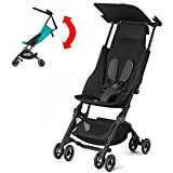 GB Pockit PLUS Stroller 2017 / multi-adjustable backrest / Light Traveler / from 6 Mo.-4Y. Monument Black