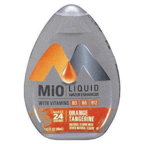 Mix N Match Three Light - MiO Liquid Water Enhancer - Orange Tangerine, makes 24 servings + Vitamins, 1.62 oz each, (Pack of 5)