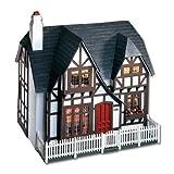Dollhouse Miniature The Glencroft Dollhouse by Greenleaf by Corona/Greenleaf Steel Rule Di