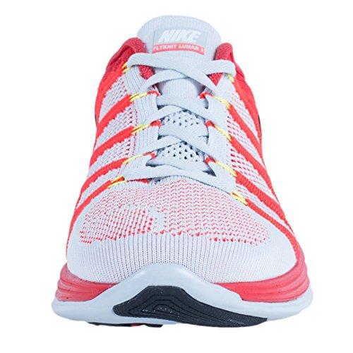 Uomo Black Bright Nike Platinum Crimson Pure Scarpe Lunar2 Sportive Flyknit IIxZaqPv