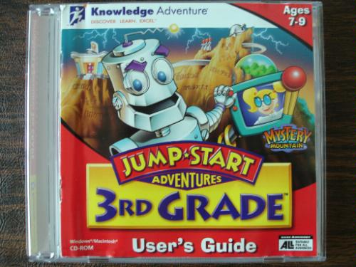 Jump Start Grade CD ROM Mystery Mountain product image