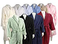 Superior Unisex Egyptian Terry Cotton Large Bath Robe