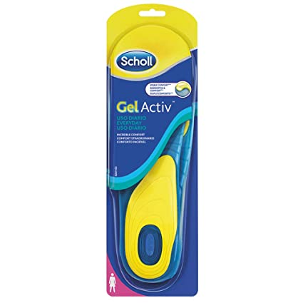 newest 45649 01724 Scholl Gel Activ Everyday Solette Uso Quotidiano per Donna, 35-40.5 EU, 1  Paio