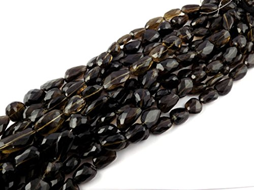Smoky Quartz Nugget Beads - 7
