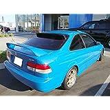 Racingbees Honda Civic 2 door Coupe Rear Roof Window Visor 1996 1997 1998 1999 2000