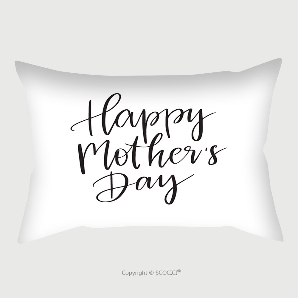 Custom Satin Pillowcase Protector Vector Hand Drawn Motivational And Inspirational Quote Happy Mother S Day Calligraphic Poster 531004384 Pillow Case Covers Decorative by chaoran