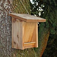 Futterhaus für Vögel aus Lärchenholz zum Aufhängen - Futterhausspender