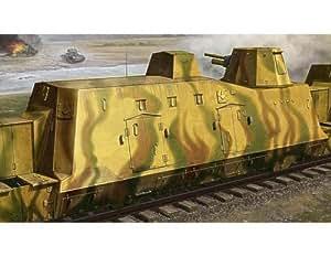 Trumpeter 01509 - Vagón-cañón blindado
