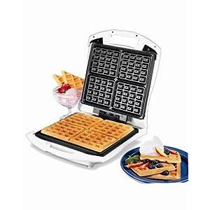 Proctor-Silex Belgian Waffle Baker, Family Size, 26050