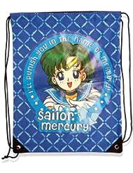 Sailor Moon Sailor Mercury Draw String Bag Back Pack