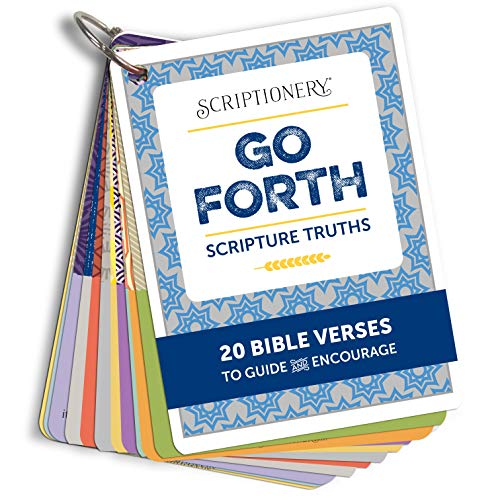 Graduation Bible Verses (Scripture Memory and Devotional - Go Forth Encouraging Bible Verse Flash Cards (Graduation,)