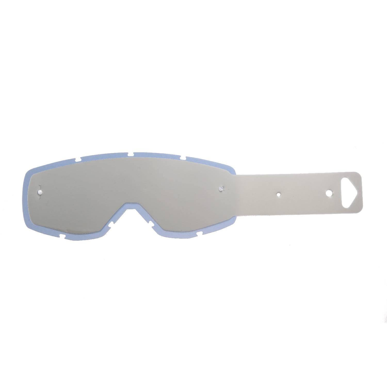 SeeCle 415003 lenti combo trasparente con 10 tear off compatibile con maschera Scott Huste / Tyrant / Split