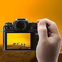 Protector de pantalla Compatible Fujifilm X-T1 X-T2, AFUNTA 2 Pack Camera Anti-Scratch Glass Glass Glass para cámara DSLR
