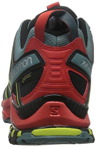 Multicolor Multicolor Black Trail de North 3D Fiery Red Salomon Hombre XA Pro Atlant para Calzado Running GTX qanYPvw