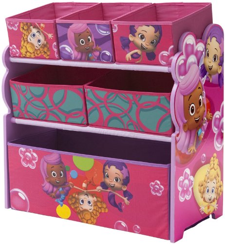 Nickelodeon Bubble Guppies Multi-Bin Toy Organizer