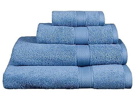 REVITEX - Toalla Rizo Estela Azulón - Baño 70x140 cm - 100% Algodón - Gramaje 500g/m²: Amazon.es: Hogar