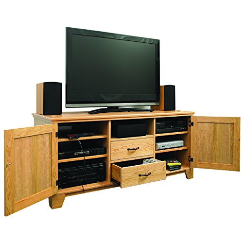 Woodworking Project Paper Plan to Build Flat Panel TV Entertainment Center - Entertainment Center Plan