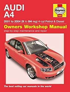 bmw 3 series petrol service and repair manual sept 1998 to 2003 s rh amazon co uk 2003 audi a4 quattro service manual Audi A4 1.8L Turbo Horsepower